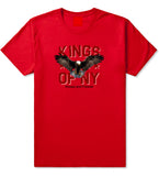 Eagle Kings Of NY Forever Mens T Shirt Red