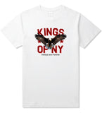 Eagle Kings Of NY Forever Mens T Shirt White