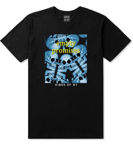 Empty Promises Mens T-Shirt Black by Kings Of NY