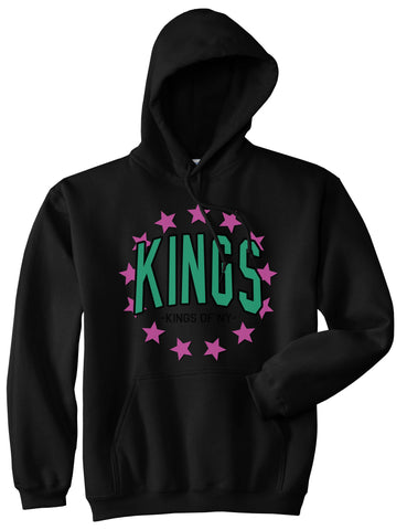KINGS Stars F19 Mens Pullover Hoodie Black