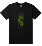 KINGS Black Roses T-Shirt in Black