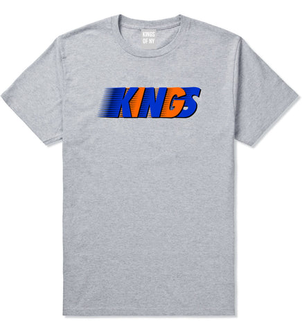 KINGS NY Colors T-Shirt in Grey