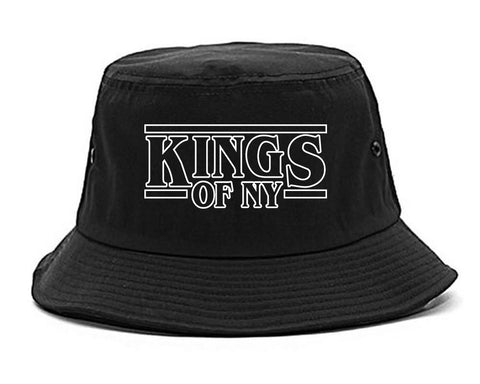 KONY Stranger Things Black Bucket Hat
