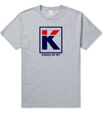 Kila Logo Parody T-Shirt in Grey