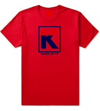 Kila Logo Parody T-Shirt in Red