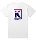 Kila Logo Parody T-Shirt in White