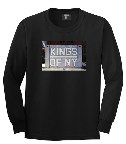 Kings Of NY Handball Court Mens Long Sleeve T-Shirt Black