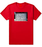 Kings Of NY Handball Court Mens T Shirt Red