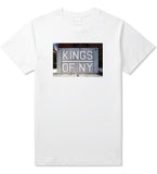 Kings Of NY Handball Court Mens T Shirt White