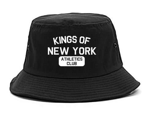 Kings Of New York Athletics Club Mens Snapback Hat Black