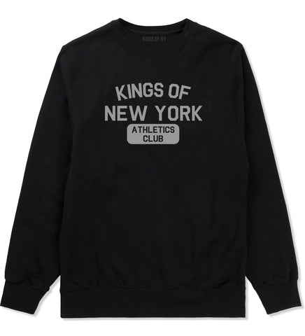 Kings Of New York Athletics Club Mens Crewneck Sweatshirt Black