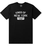 Kings Of New York Athletics Club Mens T Shirt Black