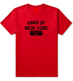 Kings Of New York Athletics Club Mens T Shirt Red