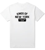 Kings Of New York Athletics Club Mens T Shirt White