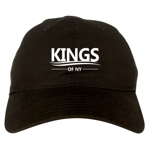 Kings Of NY Campaign Logo Black Dad Hat