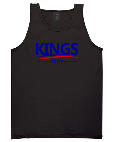 Kings Of NY Campaign Logo Tank Top Shirt in Black