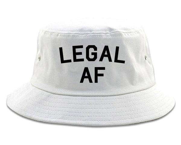 Legal AF 21st Birthday Mens Bucket Hat By KINGS OF NY