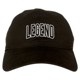Legend Outline Mens Dad Hat Baseball Cap Black