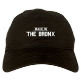 Made In The Bronx Mens Dad Hat Baseball Cap Black