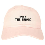 Made In The Bronx Mens Dad Hat Baseball Cap Pink