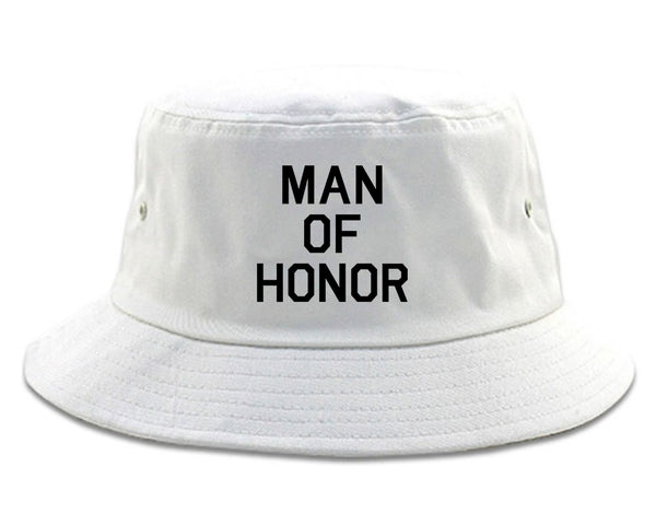 36d938aeaad Man Of Honor Funny Bachelor Party Wedding Mens Bucket Hat by Kings Of NY –  KINGS OF NY