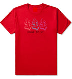 Money Signs Colors SP17 T-Shirt in Red