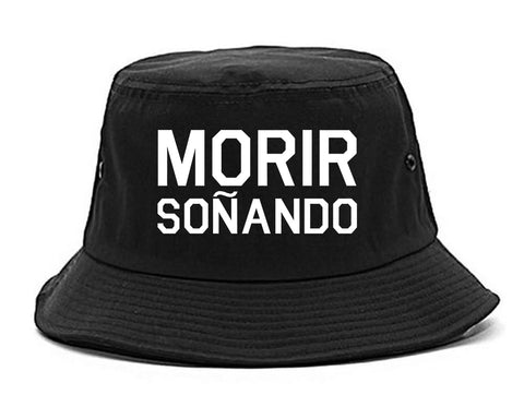 Morir Sonando Dominican Drink Black Bucket Hat