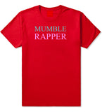 Mumble Rapper T-Shirt in Red