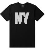 NY Statue Of Liberty Mens T Shirt Black