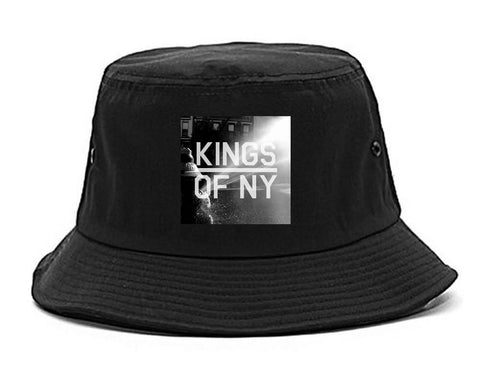 NYC Fire Hydrant Pump Summer Mens Snapback Hat Black