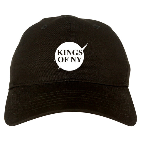 Nasa Kings Of NY Logo Black Dad Hat