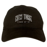 New York Blue And Orange Mens Dad Hat Baseball Cap Black