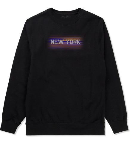New York Hometeam Crewneck Sweatshirt in Black