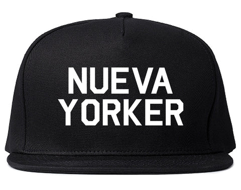 Nueva Yorker New York Spanish Black Snapback Hat
