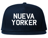 Nueva Yorker New York Spanish Navy Blue Snapback Hat