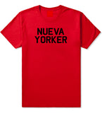 Nueva Yorker New York Spanish T-Shirt in Red