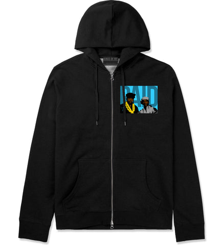 Paid In Full Artwork Zip Up Hoodie