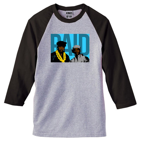 Paid In Full Artwork 3/4 Sleeve Raglan T-Shirt