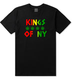 Puff Puff Pass Mens T-Shirt Black by Kings Of NY