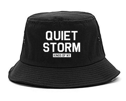 Quiet Storm Kings Of NY Mens Snapback Hat Black