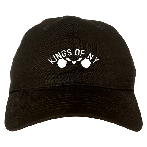 Red Roses Crest KONY Black Dad Hat