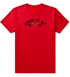 Red Roses Crest KONY T-Shirt in Red