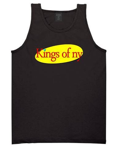 Seinfeld Logo Tank Top in Black