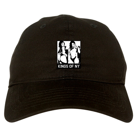 Slide In Her DMs Black Dad Hat
