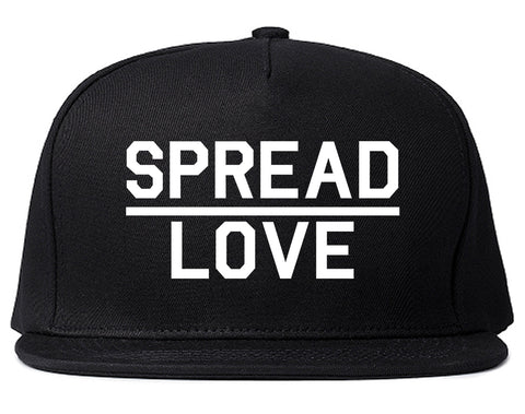 Spread Love Brooklyn Black Snapback Hat