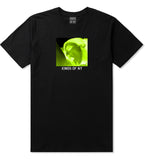 Taste Neon Green Yellow Mens T-Shirt Black by Kings Of NY