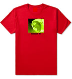 Taste Neon Green Yellow Mens T-Shirt Red by Kings Of NY