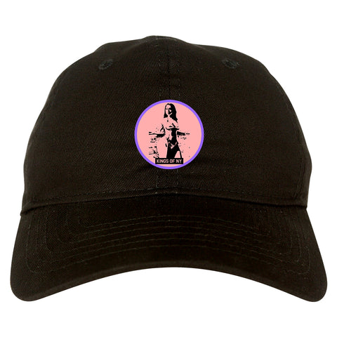Thick Girl Goals Black Dad Hat