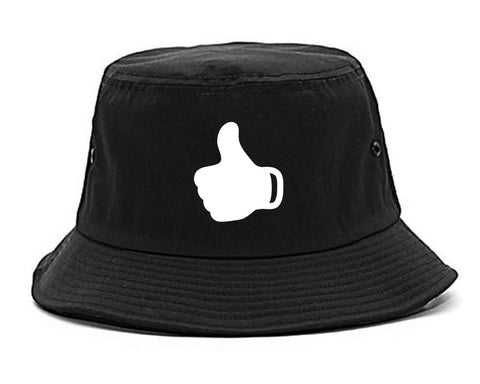 Thumbs Up Emoji Chest Mens Bucket Hat