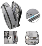 Kings Of NY Two Compartment USB Charging Backpack Details